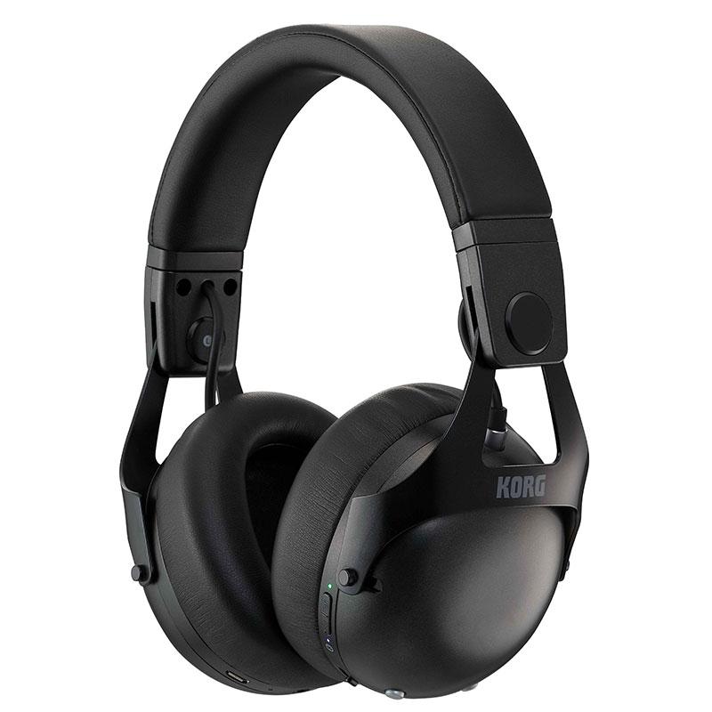DJヘッドホン KORG NC-Q1 BK 送料無料/新品 ブラック CANCELLING DJ HEADPHONES NOISE SMART 年間定番
