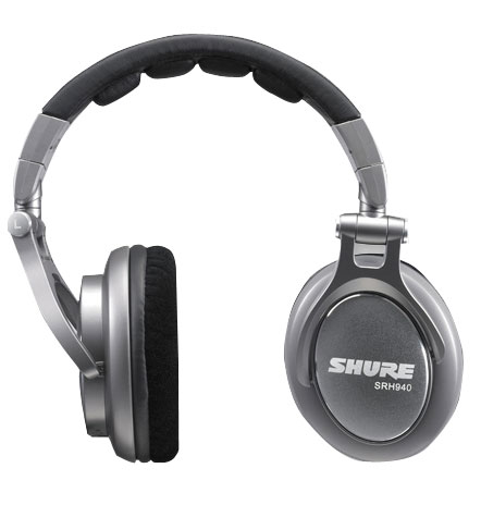 SHURE SRH940 [高音質モニターヘッドフォン] 【安心の正規輸入品】