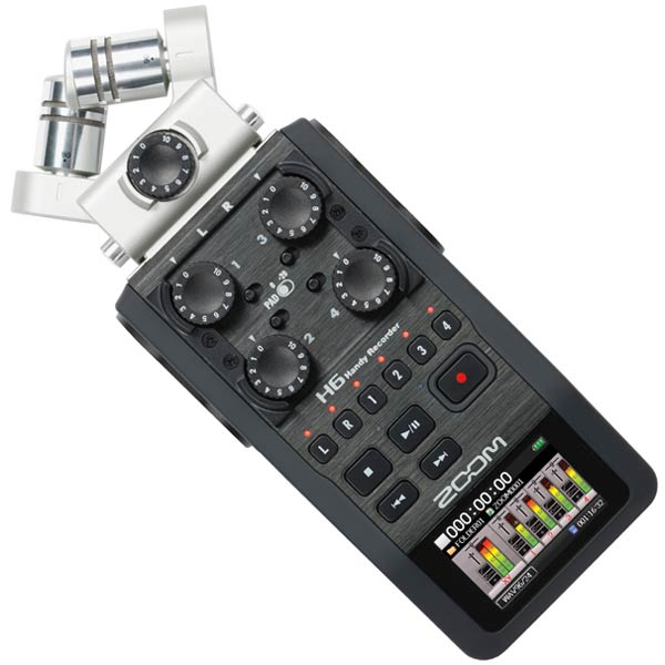 ●ZOOM H6 Handy Recorder