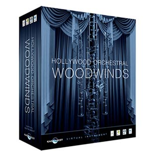 ●EASTWEST Hollywood Orchestral Woodwinds Diamond Edition [USB HDD版] 【数量限定プライス】
