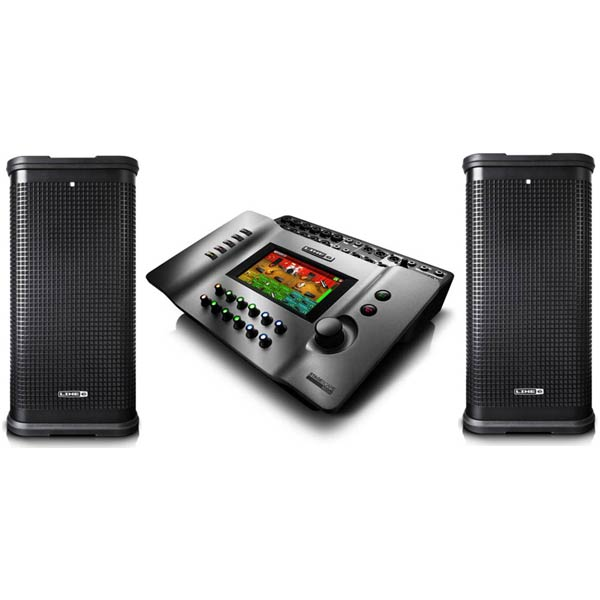 ●LINE6 StageScape M20d + StageSource L2t