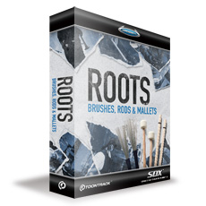●TOONTRACK SDX ROOTS - BRUSHES, RODS & MALLETS