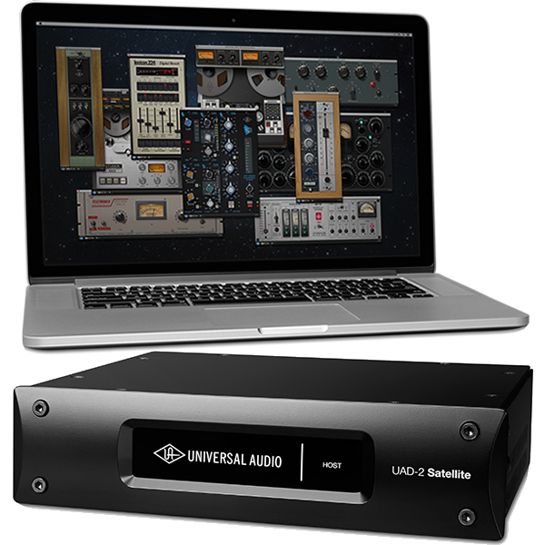 ●Universal Audio UAD-2 Satellite Thunderbolt QUAD CORE