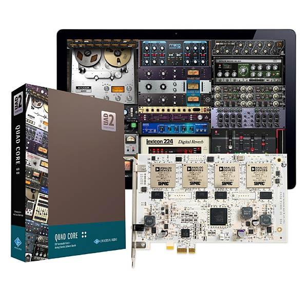 ●Universal Audio UAD-2 QUAD CORE 【~7/20期間限定ポイント10倍!】