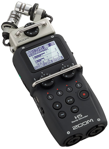 ●ZOOM H5 Handy Recorder