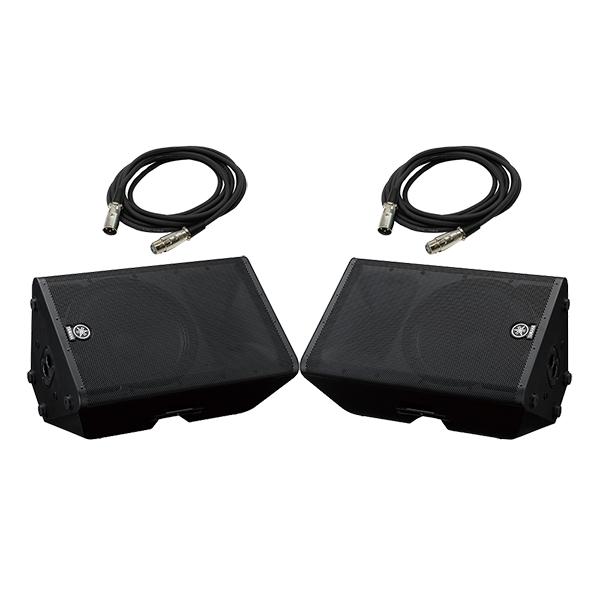 ●PA System モニタースピーカー追加セット [DXR12 2本 + XLR-XLRケーブル 5m 2本]