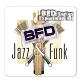 ●FXpansion BFD Jazz & Funk [簡易パッケージ]