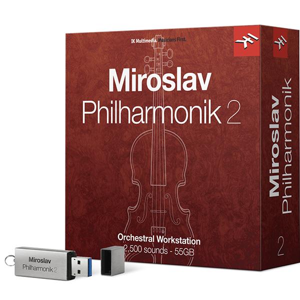 ●IK Multimedia MIROSLAV PHILHARMONIK 2