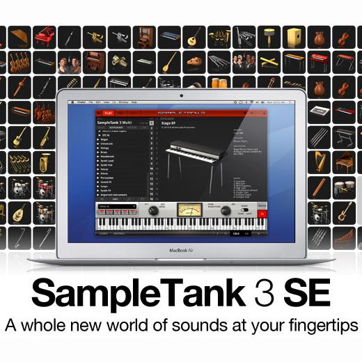 ●IK Multimedia SAMPLETANK 3 SE 【期間限定特別価格】 【~7/20期間限定ポイント10倍!】