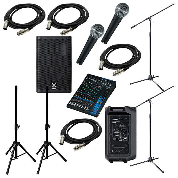 ●YAMAHA PA Sound System MG12 + DXR10 [LIVE SET]
