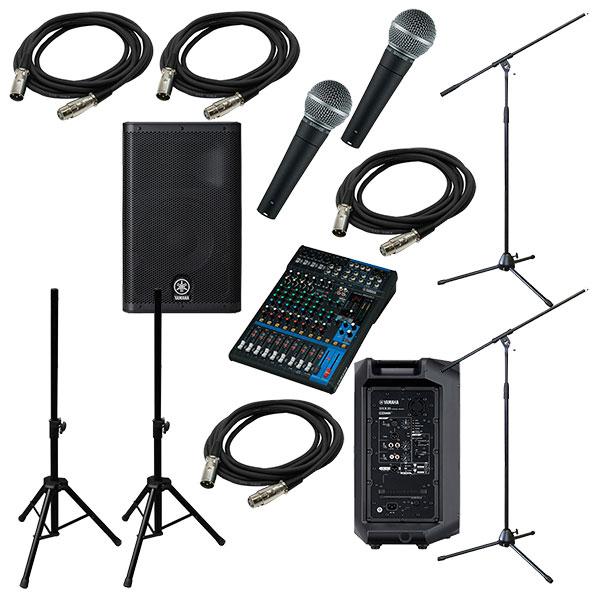 ●YAMAHA PA Sound System MG12XU + DXR10 [LIVE SET]