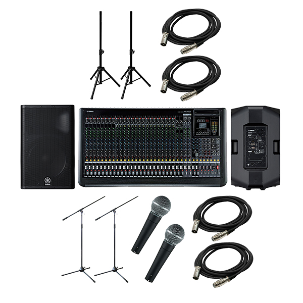 ●YAMAHA PA Sound System MGP32X + DXR15 [CONCERT SET]