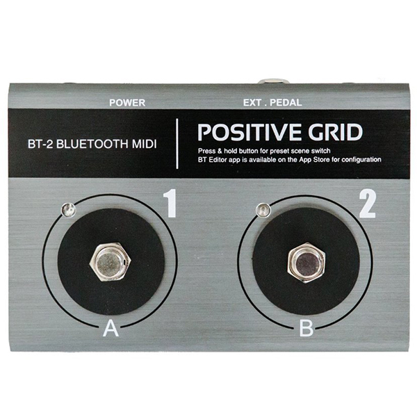 ●Positive Grid BT-2 [BLUETOOTH MIDI PEDAL] 【ikbp5】