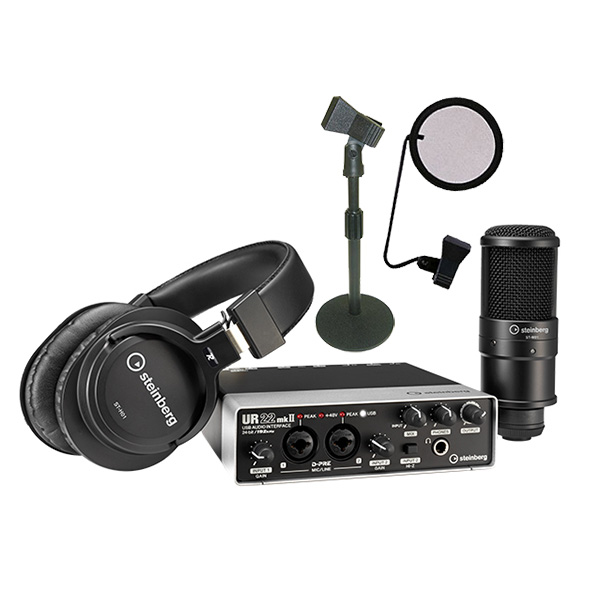 ●Steinberg UR22mkII Recording Pack DeskTop Recording Set