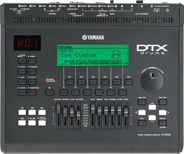 YAMAHA DTX900M [トリガーモジュール] 【ikbp5】