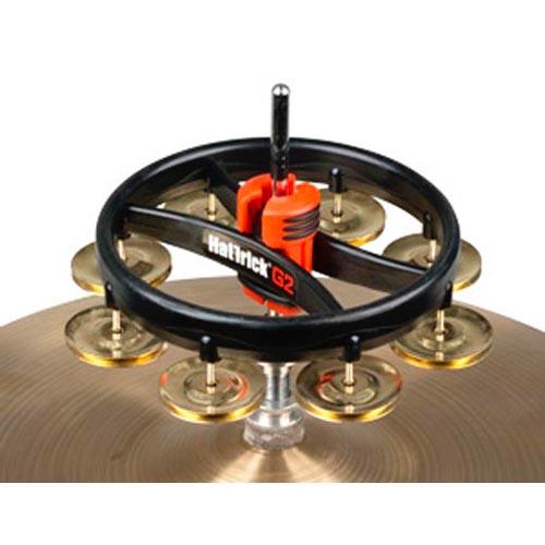 日本メーカー新品 タンバリン Rhythm Tech HatTrickG2 ブラス 記念日 LRHTRT7421