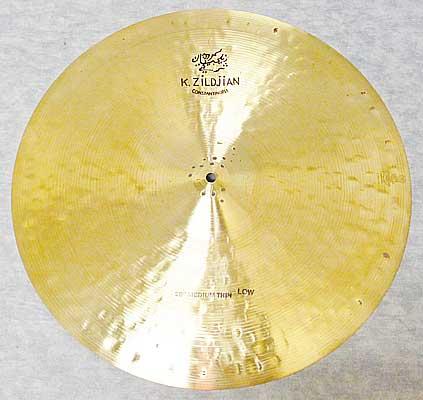 Zildjian K Constantinople Medium Thin Ride Low 22 [NKZL22CONMTL]