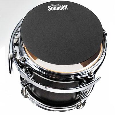 """トレーニングパッド EVANS SO-12 """"Sound-Off"""" Mutes Drum 超人気 正規取扱店 inch 12"""