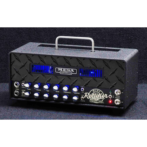 Mesa/Boogie MINI Rectifier 25 Head [Black Diamond / Blue LED] 【特価】