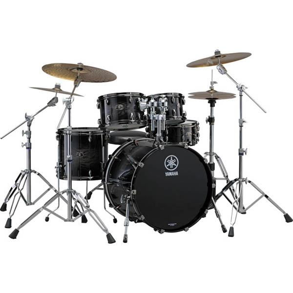 YAMAHA LIVE CUSTOM 4pc Drum Set (BWS) [LNP4F3BWS + LNB2016BWS]