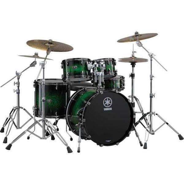 YAMAHA LIVE CUSTOM 4pc Drum Set (EWS) [LNP4F3EWS + LNB2016EWS]