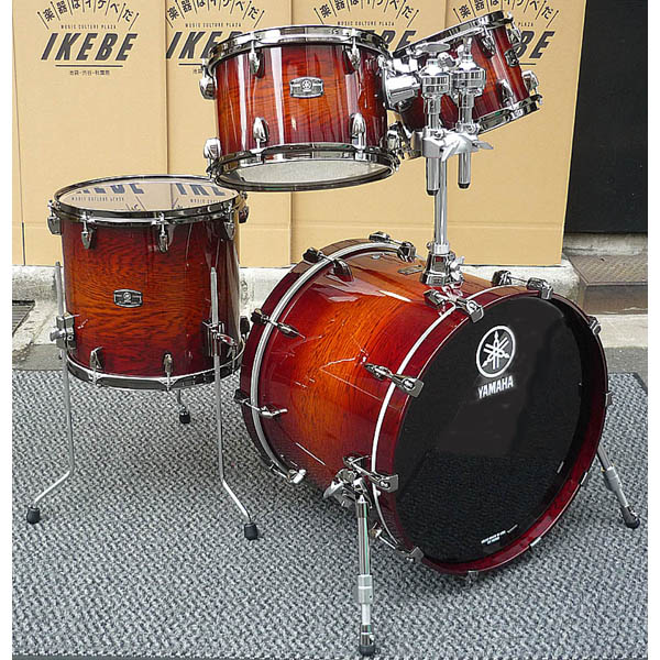 YAMAHA LIVE CUSTOM 4pc Drum Set (AWS) [LNP4F3AWS + LNB2016AWS]