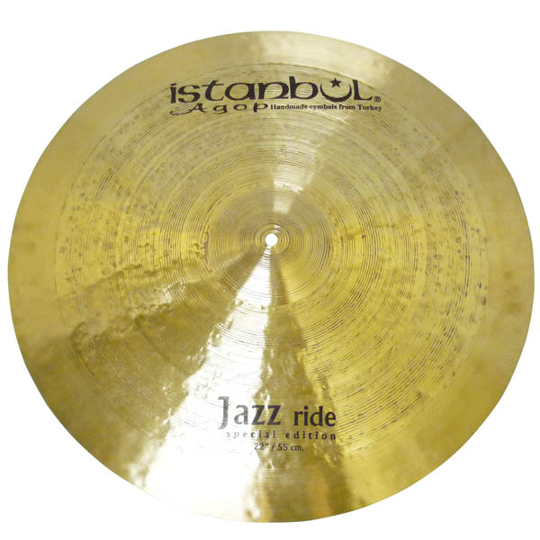 Istanbul Agop Special Edition Series Jazz Ride 22