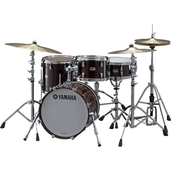 YAMAHA Absolute Hybrid Maple 3pc Drum Set [AMB1814/AMF1413/AMT1208] [BD18、FT14、TT12]