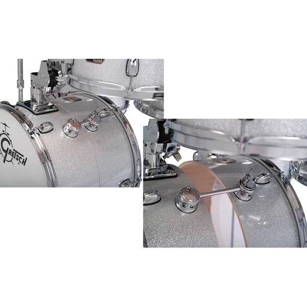 Gretsch CC-S264X-TSS (Silver Sparkle) [Catalina Club Street Kit]