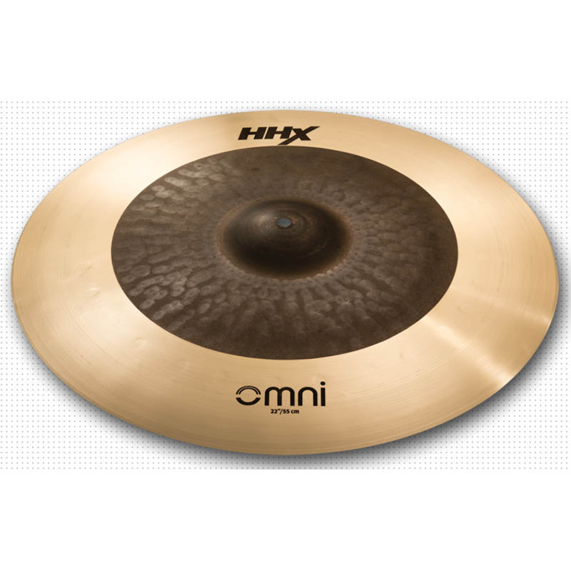"SABIAN HHX Dark Omni 22"" HHX-22OMX [Designed by JoJo Mayer]"