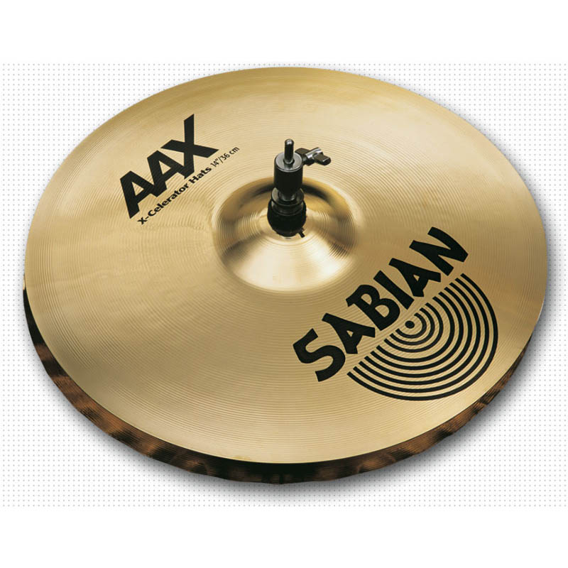 "SABIAN AAX AAX-14"" X-Celerator HiHat pr"