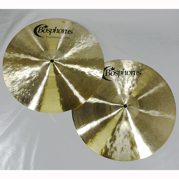 "Bosphorus Traditional Series Hihat Crisp 14"" Pr"