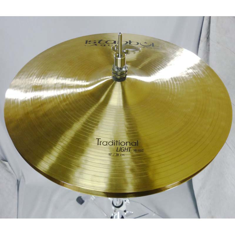 "Istanbul Traditional Light HiHat 15"" pr Agop"