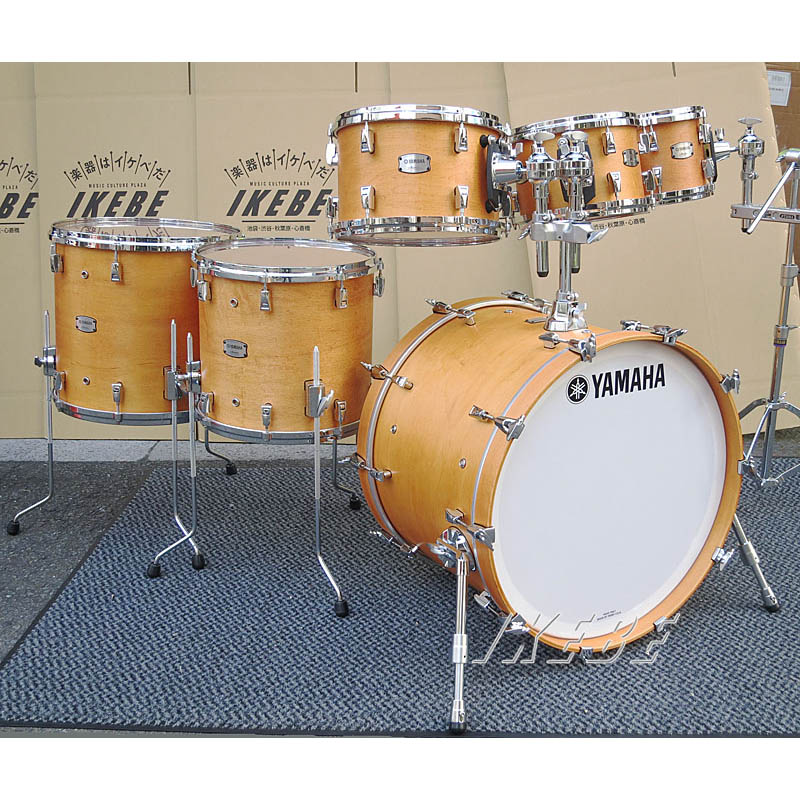 YAMAHA Absolute Hybrid Maple 6pc Drum Set [AMP6F3/AMB2216/AMF1413/AMT0807] [BD22、FT16&14、TT12&10&8]