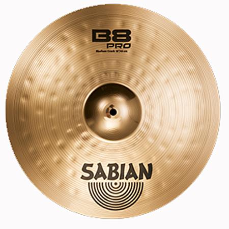 """SABIAN/B8 PRO Medium Crash 18"""" B8P-18MC-B"""