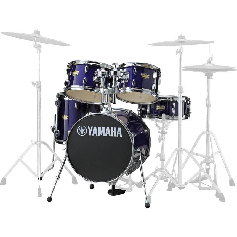 YAMAHA Manu Katche Signature Junior kit [JK6F5DPV/ディープ・バイオレット] 【BD16・FT13・TT12 & 10・SD12・ダブルタムホルダー】