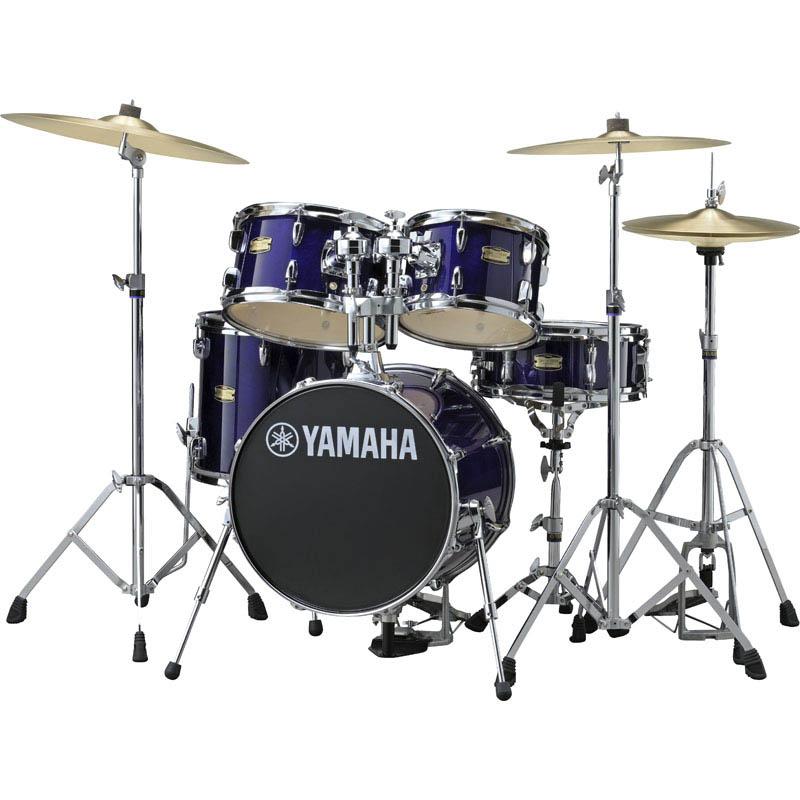 YAMAHA Manu Katche Signature Junior kit Hardware Set [JK6F5DPV/ディープ・バイオレット] 【BD16・FT13・TT12 & 10・SD12・ダブルタムホルダー & ハードウェア】 【ドラムスローン (DT-200) & スティック・プレゼント!】