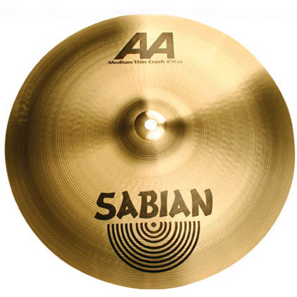 "SABIAN AA Medium Thin Crash 16"" AA-16MTC"