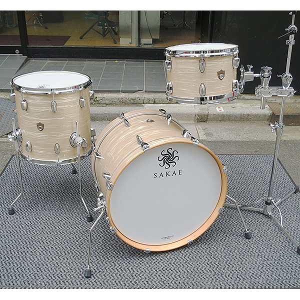 SAKAE DRUMS TR044KFT(TR044KF+TR2T)Vintage Club Oyster[Trilogy Drum Set]
