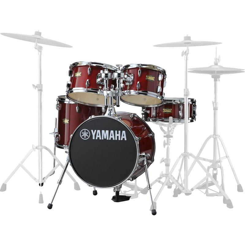 YAMAHA Manu Katche Signature Junior kit [JK6F5CR/クランベリー・レッド] 【BD16・FT13・TT12 & 10・SD12・ダブルタムホルダー】