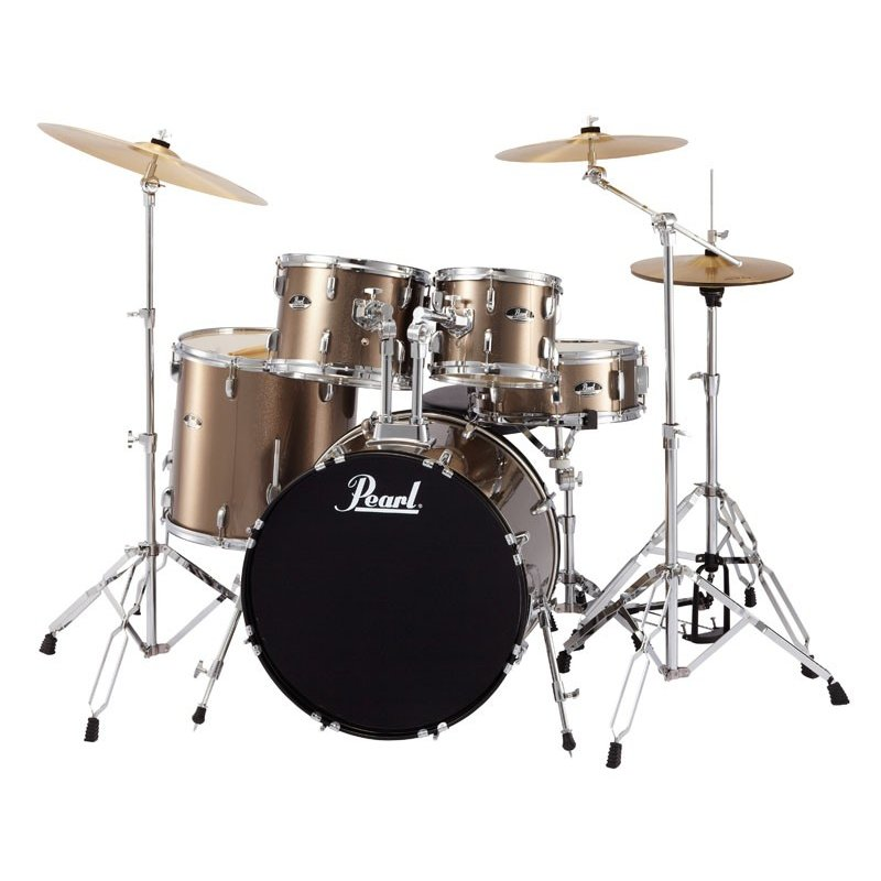 Pearl RS525SCW/C #707:BRONZE METALLIC [ROADSHOW Drum Set] 【教則DVD&ホールカット・リング / プレゼント!】