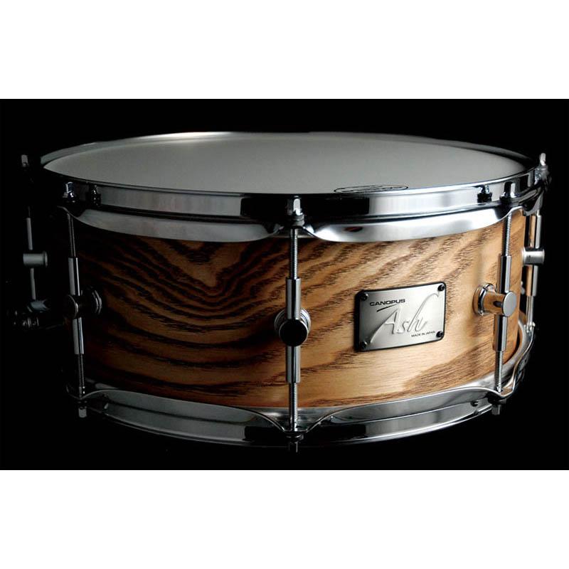 CANOPUS AH-1455:Natural Grain Ash [Ash Snare Drum]