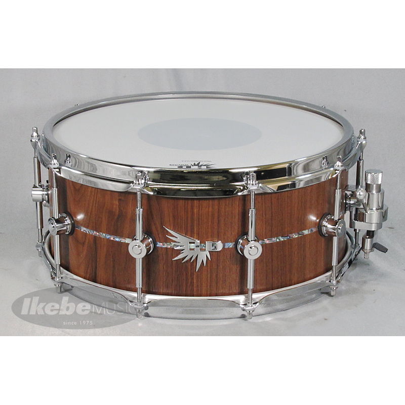 HENDRIX DRUMS Archetype Solid Stave American Black Walnut 14