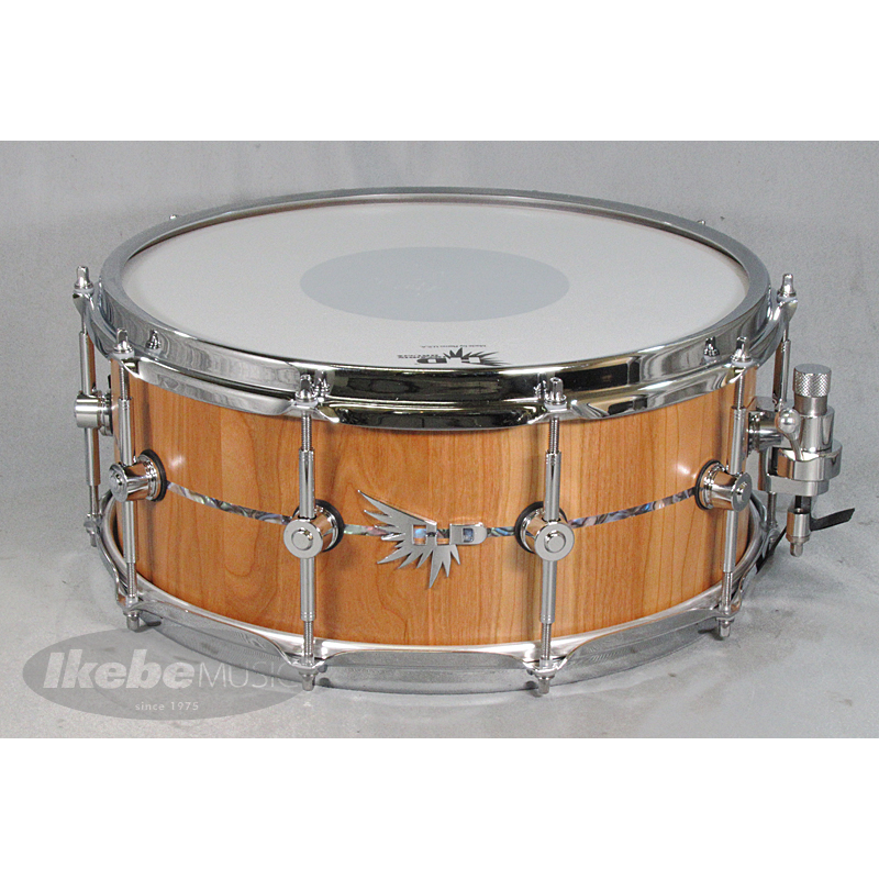 HENDRIX DRUMS Archetype Solid DRUMS Stave American Black Inlay Cherry HENDRIX 14