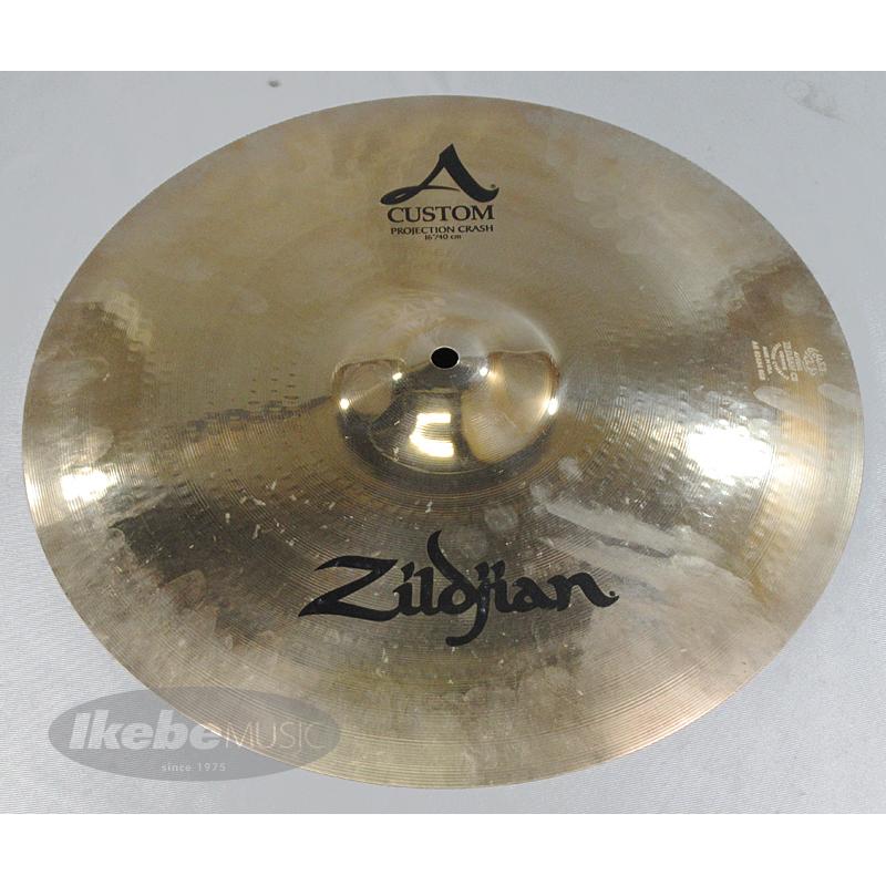 Zildjian A Custom Projection Crash 16 [NAZLC16PC] 【Zildjianロゴ入りバッグ(16インチ用)付属!】【演奏で使用済み / チョイキズ特価品】