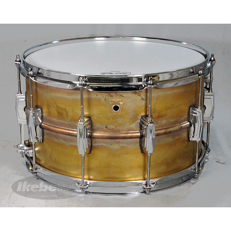 Ludwig LB484R [Raw Brass Phonic Snare Drum 14