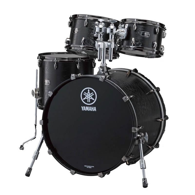 YAMAHA LIVE CUSTOM 4pc Drum Set (BKW) [LNP6F3BKW + LNB2216BKW] 【BD22、FT16、TT12&10】 【店頭展示チョイキズ特価品】