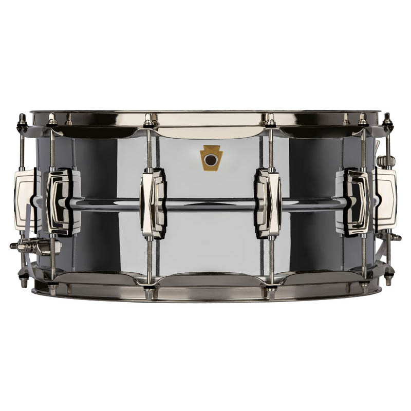"""Ludwig LB402BN [""""Super Ludwig COB (Chrome Over Brass)"""" Snare Drum 14"""