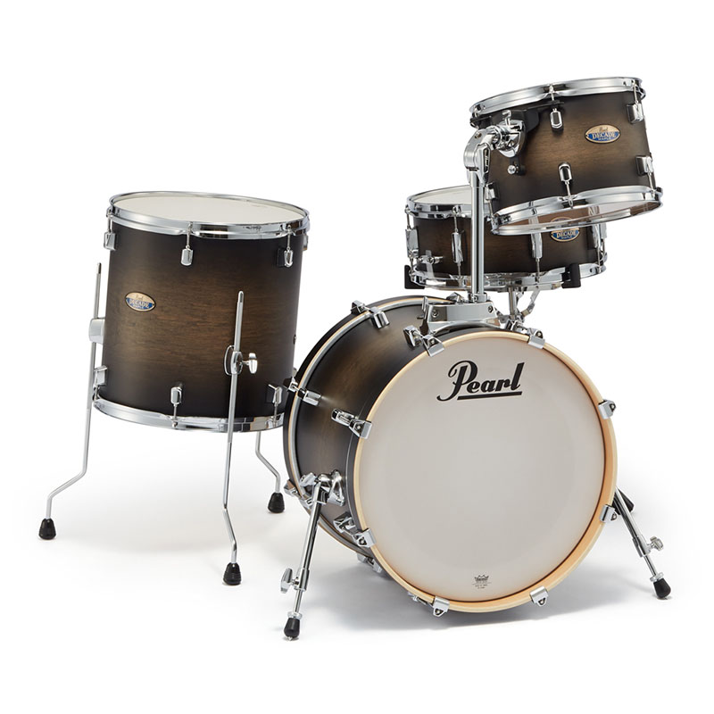 Pearl DMP984P/C #262 + DMP1007T/C + TH900I/C [Decade Maple Bop Club Kit / Satin Black Burst] 【数量限定!お値段据え置き10タム&ホルダープレゼント!】