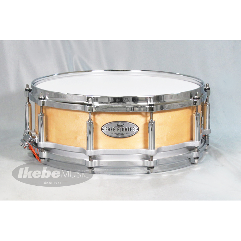"Pearl FTMMH1465 [Free Floater / Maple&African Mahogany 14""×6.5""/Natural Maple]【国内カタログ未掲載の海外モデルが入荷!】"